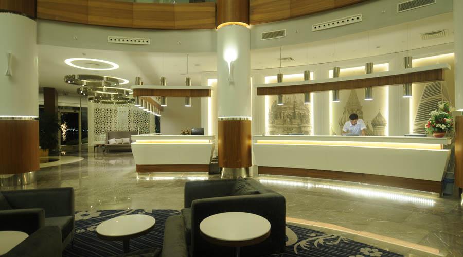 Gold Island Hotel - Blok A recepce