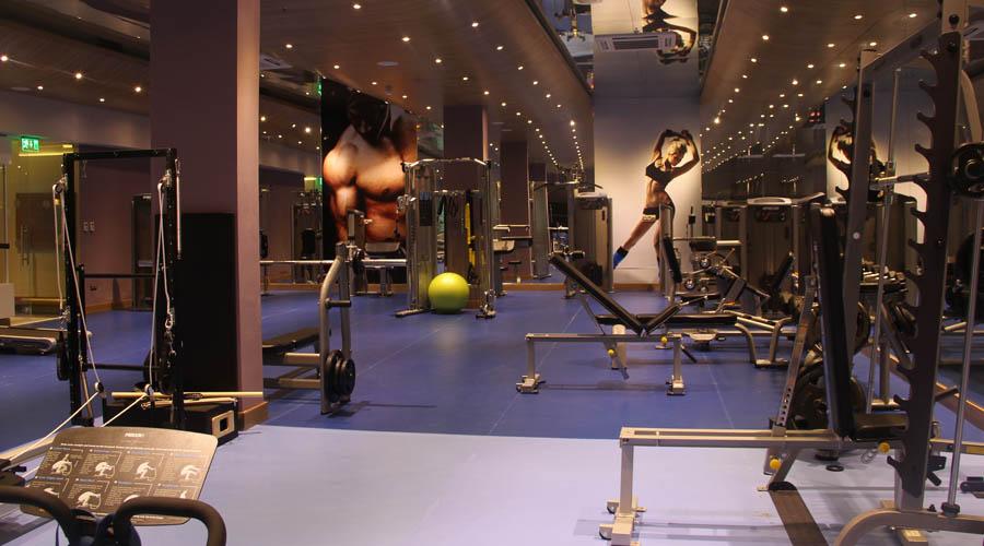 Gold Island Hotel - Blok B fitness