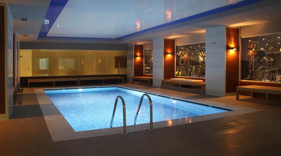 Gold Island Hotel - Blok B vnitřní bazén