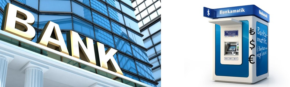 Banky a bankomaty v Turecku