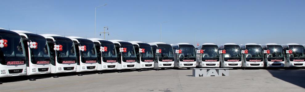 Dálkové autobusy v Turecku