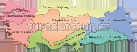 Regiony v Turecku