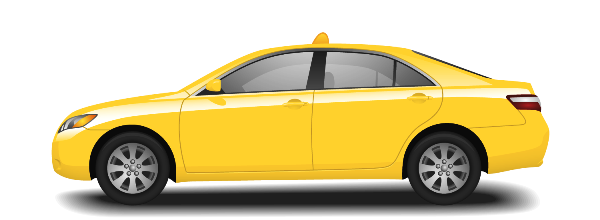 Taxi v Turecku