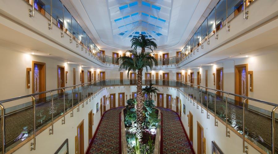 Saphir Hotel - Villa standardní deluxe pokoj chodba