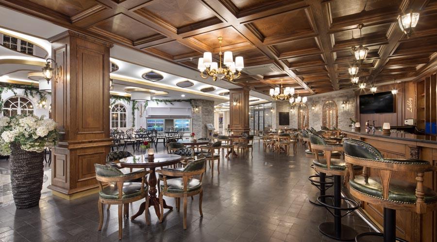 Saphir Hotel – Lobby bar